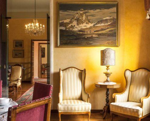 Villa Elisa in Bordighera Eingangsbereich