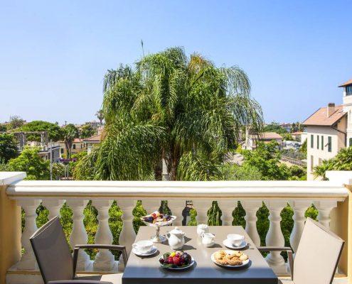 Villa Elisa Balkon, Bordighera, Blumenriviera