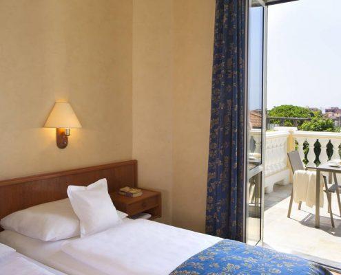Villa Elisa Zimmer mit Balkon, Bordighera, Ligurien