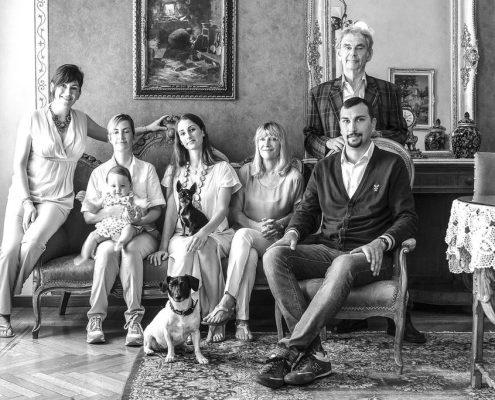 Die Inhaberfamilie der Villa Elisa in Bordighera