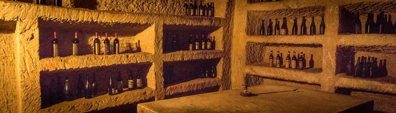 Das Infernot der Weinkellerei Casaccia in Cella Monte