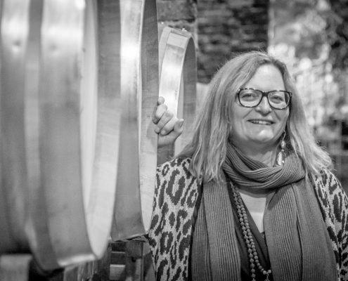Sabine Ehrmann, Inhaberin der Kellerei Tenuta Tenaglia im Monferrato