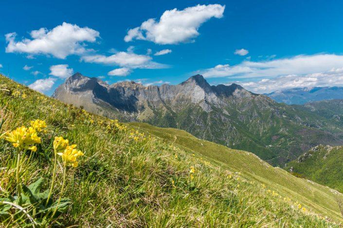 eine Wanderung in den Apuanischen Alpen in der Toskana