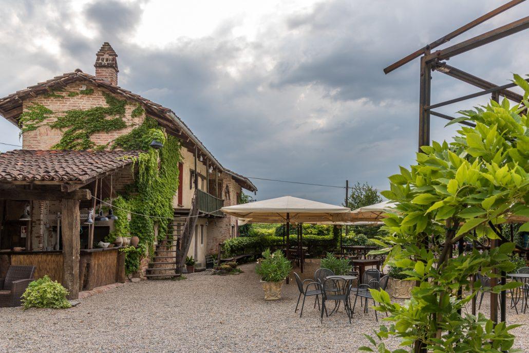 Casa Scaparone bei Alba, unsere Unterkunft auf der Reise in die Langhe