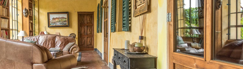 das Landgut Casa Scaparone bei Alba