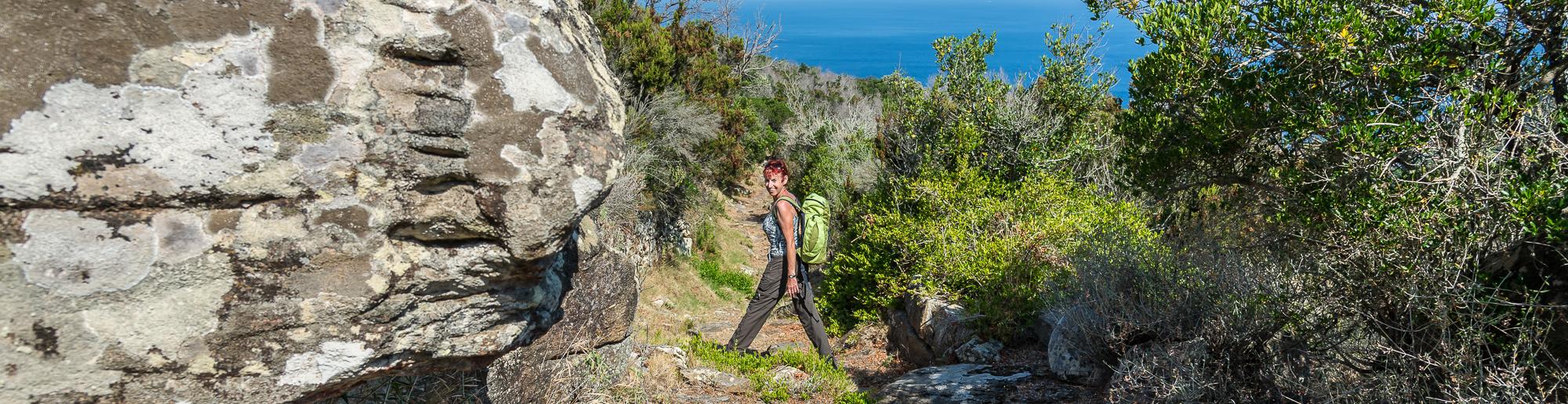 Wanderung auf der Insel Giglio