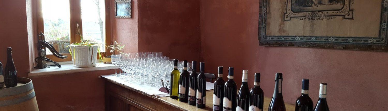 Cascina Gilli Weinverkostung im Monferrato mit Freisa