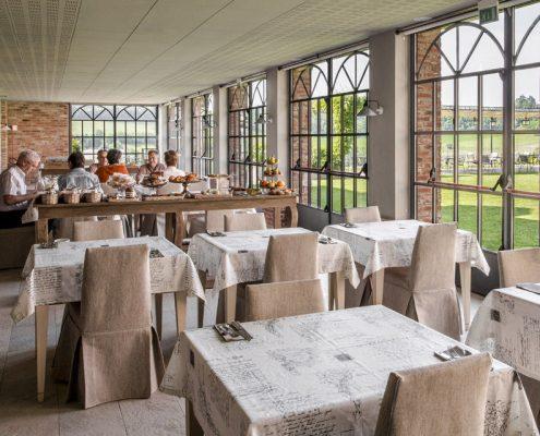 Cascina Spinerola bei Moncalvo Restaurant