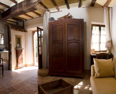 Bauernhof im Piemont bei Alba, zimmer in der casa scaparone alba