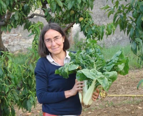 Elena vom Weingut La Casaccia in Cella Monte