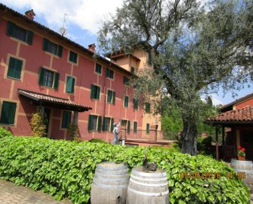 Die Tenuta Tenaglia, historisches Weingut im Monferrato bei Crea