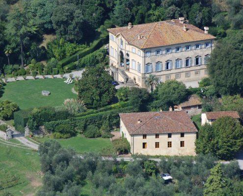 Die Fabbrica di San Martino in Lucca, eine historische Villa