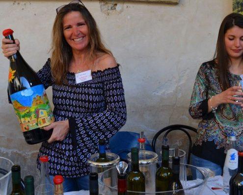 Pietra del Focolare, biologisches Weingut in der Lunigiana, Vermentino, Weinverkostung