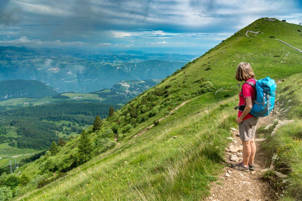 Wandern am Monte Baldo zwischen Gardasee und Valpolicella