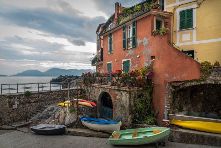 Der kleine Hafen von Tellaro