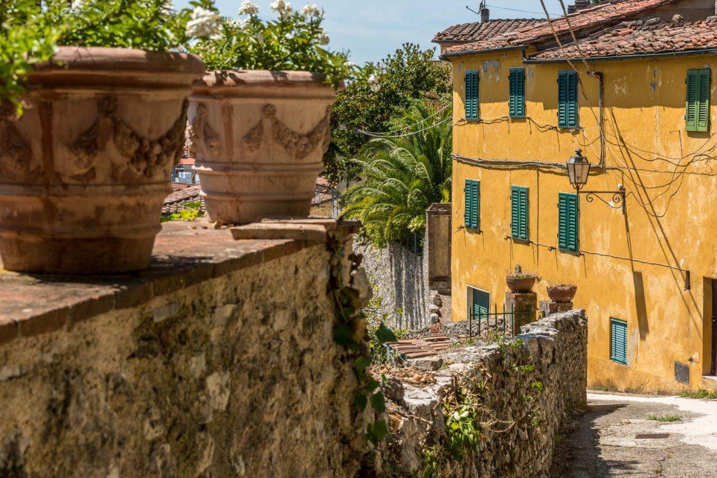 ein kleines Dorf in der Lunigiana
