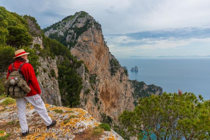 wandern auf Capri
