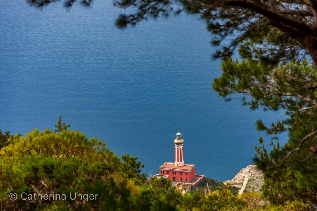 Der Leuchtturm von Capri