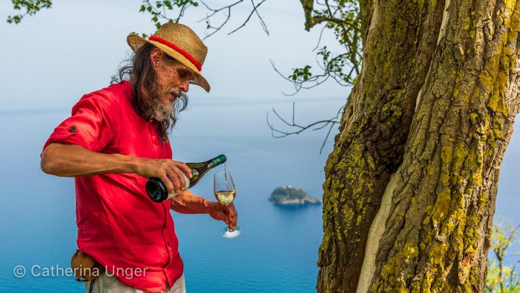 Wandern und Wein auf der Halbinsel von Sorrent