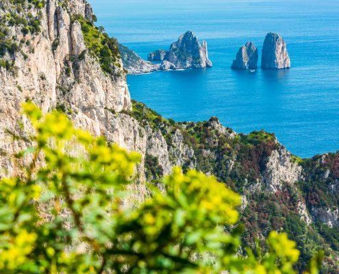 Wanderreise in Kampanien, eine Wanderung auf Capri