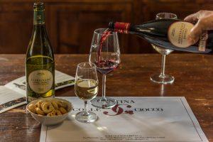 Weinverkostung bei Colle Ciocco in Montefalco