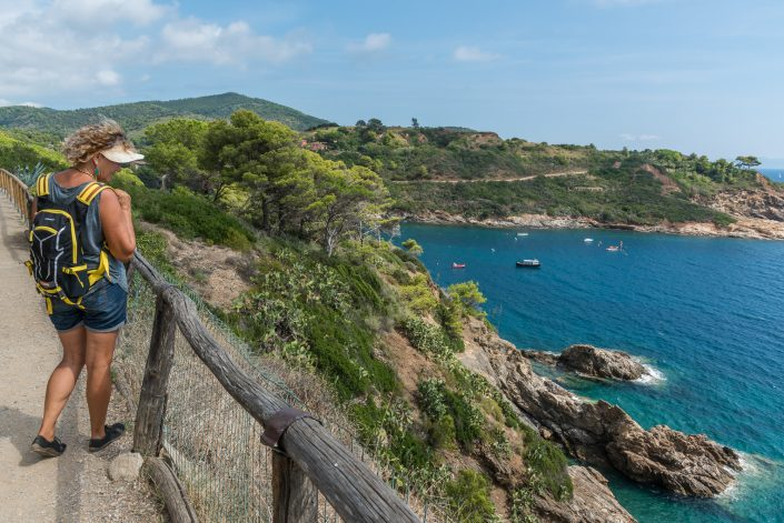 Wandern bei Porto Azzurro
