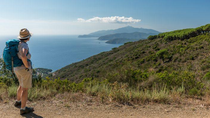 Bei Capoliveri, wandern am Monte Calamita