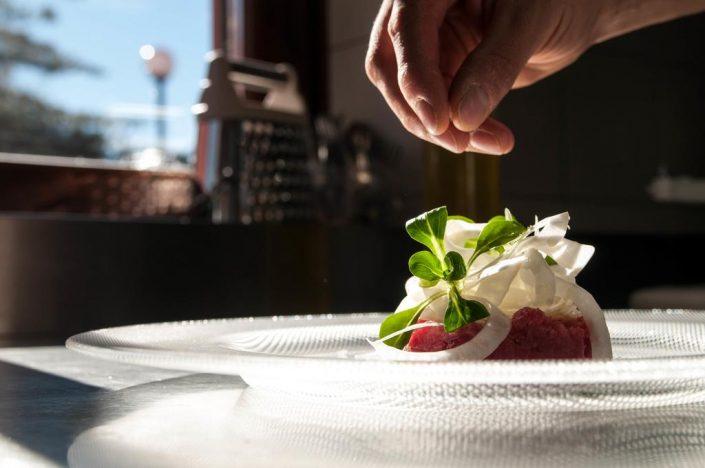 Abendessen Hotel ai Tardì, Piemont, Diano d'Alba