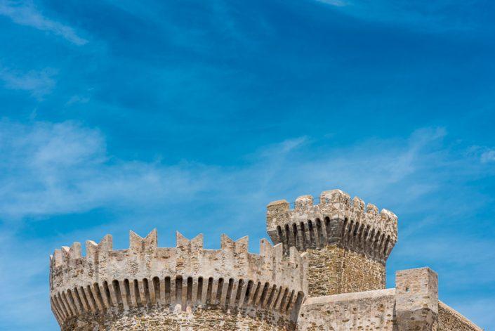 Die beeindruckende Burg von Populonia