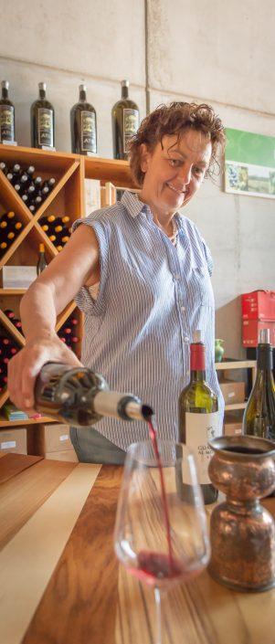 Weinverkostung in der Maremma