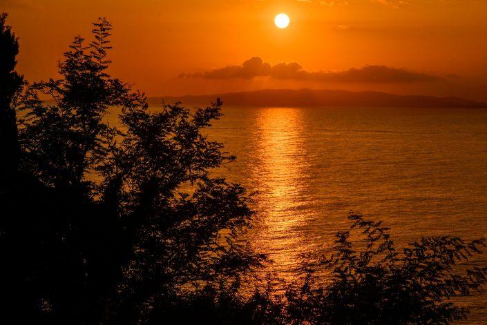 Sonnenuntergang in der Maremma