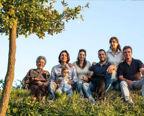 familie romanelli vom gleichnamigen weingut in umbrien bei montefalco