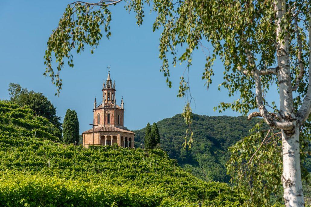 Kirche bei Col San Martino