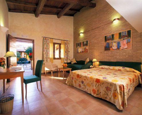 Doppelzimmer im hotel santa maria in rom