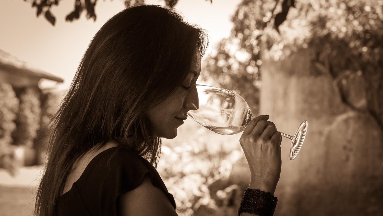 Weinverkostung auf der Via Appia