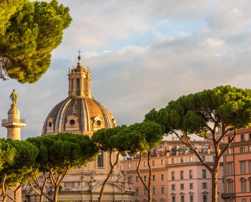 Rom, die trajanischen Maerkte